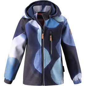 Reima Kids Vantti Softshell Jacket Navy